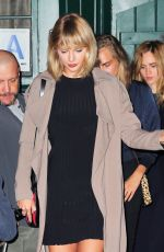 TAYLOR SWIFT and CARA DELEVINGNE Night Out in New York 09/26/2016