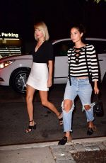 TAYLOR SWIFT and LILY ALDRIDGE Nnight Out in New York 09/07/2016