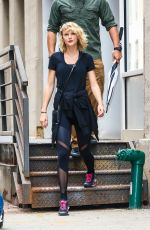 TAYLOR SWIFT Leaves a Gym in New York 09/07/2016