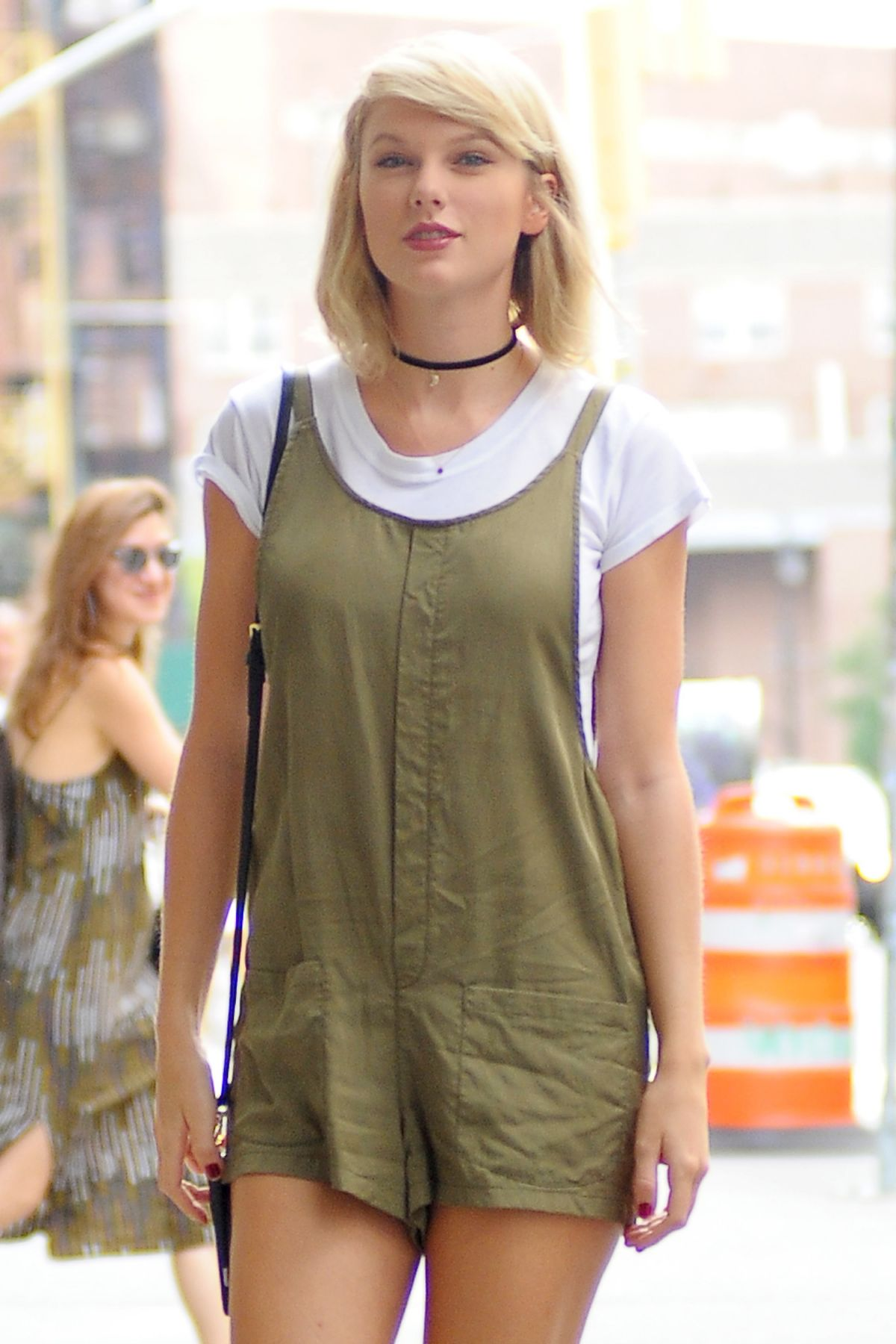 TAYLOR SWIFT Out and About in New York 08/31/2016