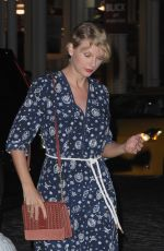 TAYLOR SWIFT Out and About in New York 09/12/2016