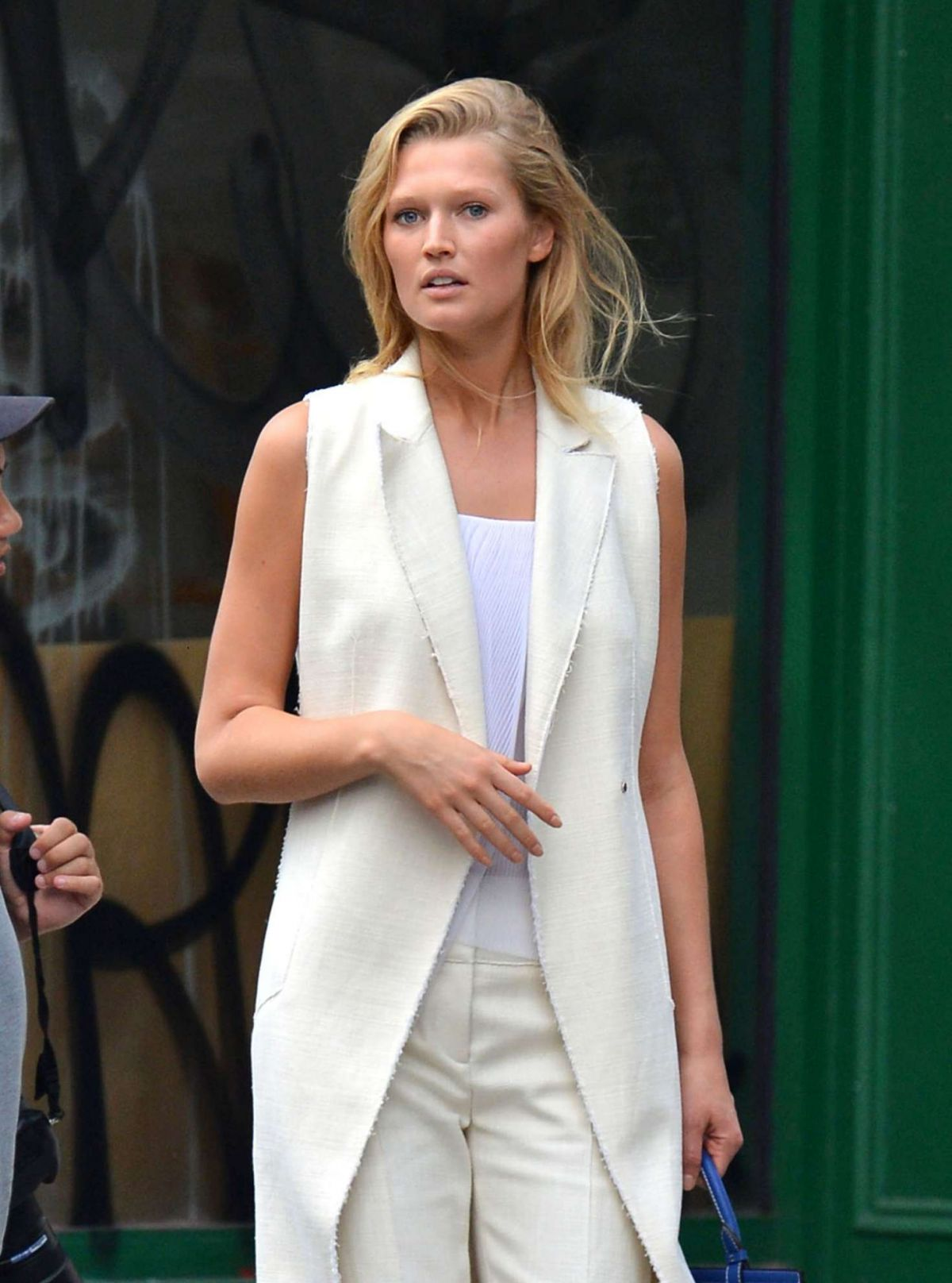 TONI GARRN Out and About in New York 09/10/2016