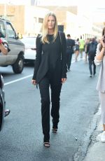 TONI GARRN Out and About in New York 09/14/2016