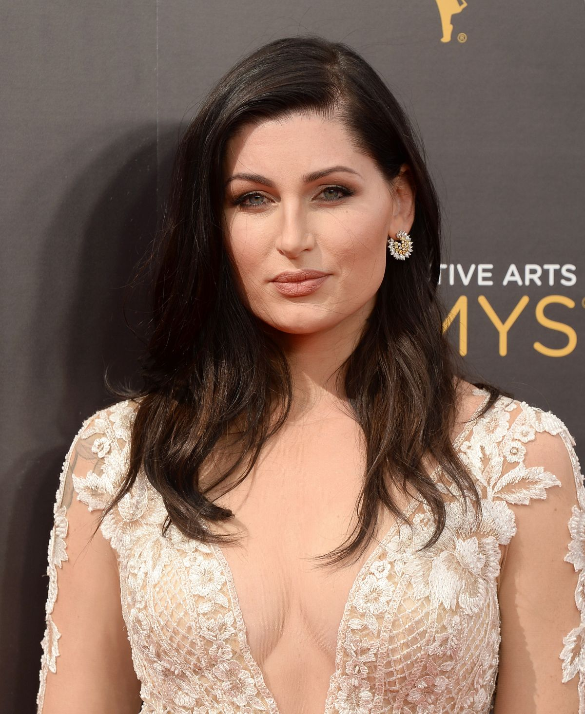TRACE LYSETTE at Creative Arts Emmy Awards in Los Angeles 09/10/2016
