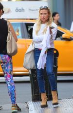 TRACY ANDERSON Out in Soho 09/16/2016