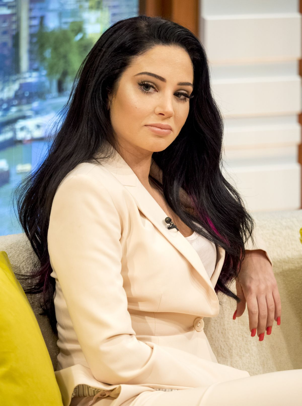 TULISA CONTOSTAVLOS at Good Morning Britain in London 09/05/2016