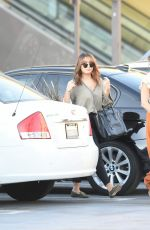 VANESSA and STELLA HUDGENS Leaves Michaels and Aq Nail Salon in Los Angeles 09/23/2016