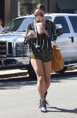 VANESSA HUDGENS at Alfred Coffee & Kitchen in West Hollywood 09/15/2016