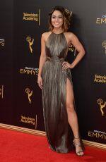 VANESSA HUDGENS at Creative Arts Emmy Awards in Los Angeles 09/10/2016