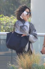 VANESSA HUDGENS at Equinox Gym in West Hollywood 09/07/2016
