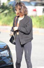 VANESSA HUDGENS Heading to Yoga Class in Studio City 09/06/2016