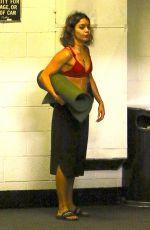 VANESSA HUDGENS Leaves Yoga Class in Studio City 09/01/2016