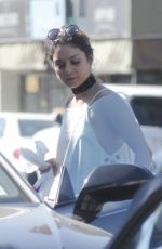 VANESSA HUDGENS Out and About in Toluca Lake 09/24/2016