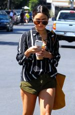 VANESSA HUDGENS Out for Ice Coffee in West Hollywood 09/15/2016