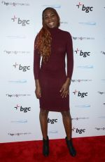 VENUS WILLIAMS at Annual Charity Day Hosted by Cantor Fitzgerald, BGC and GFI in New York 09/12/2016