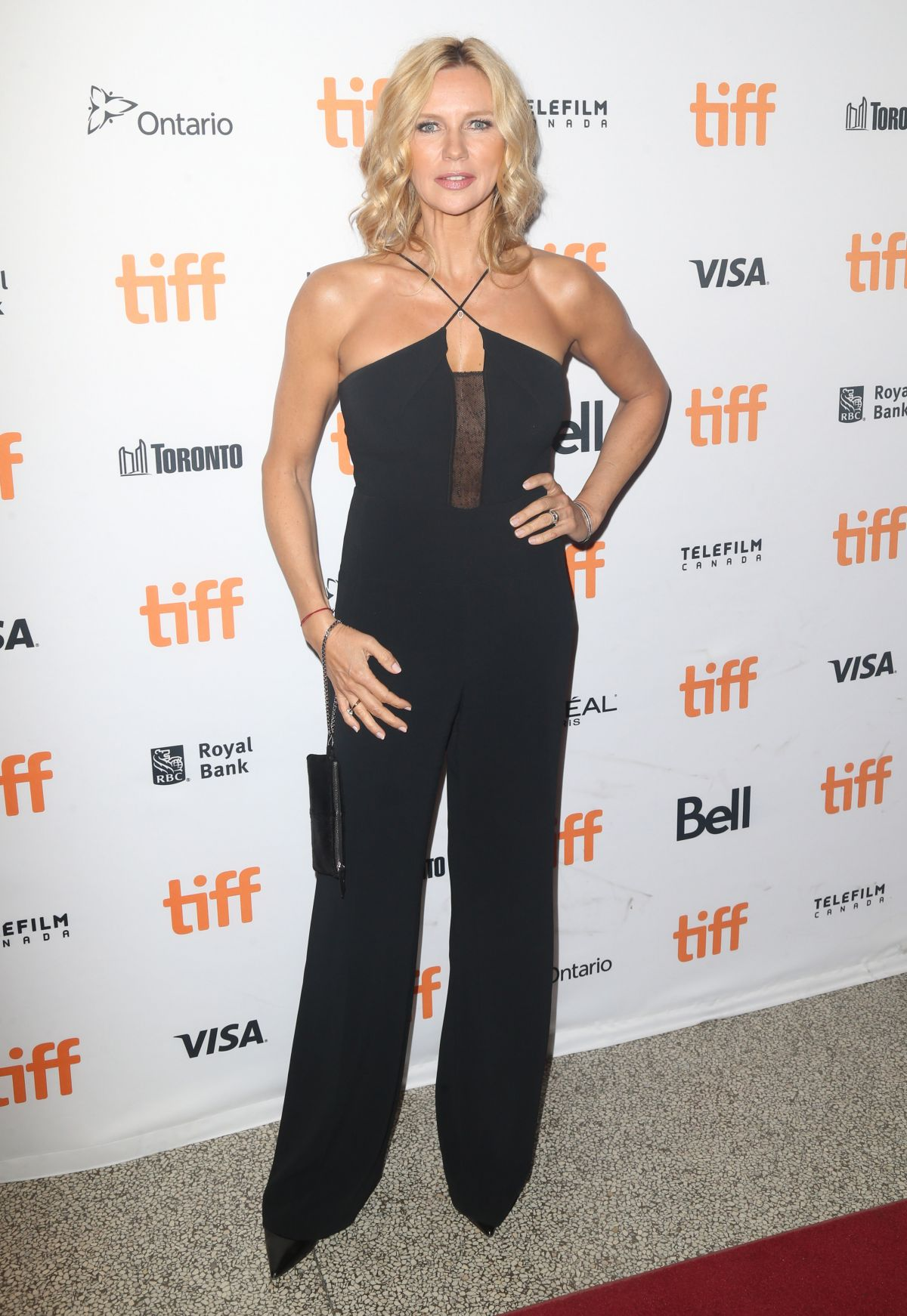 VERONICA FERRES at 'Salt and Fire' Premiere at Toronto ...