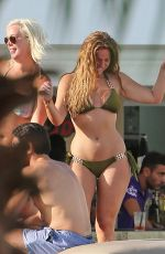 VICKY PATTISON in Bikini at a Pool Party in Ibiza 09/22/2016