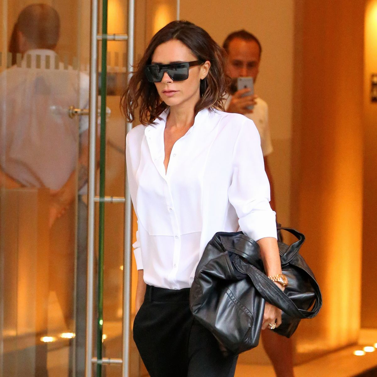 VICTORIA BECKHAM Leaves Her Hotel in New York 09/07/2016