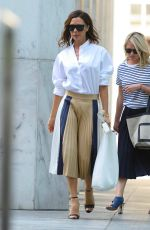 VICTORIA BECKHAM Out and About in New York 09/14/2016