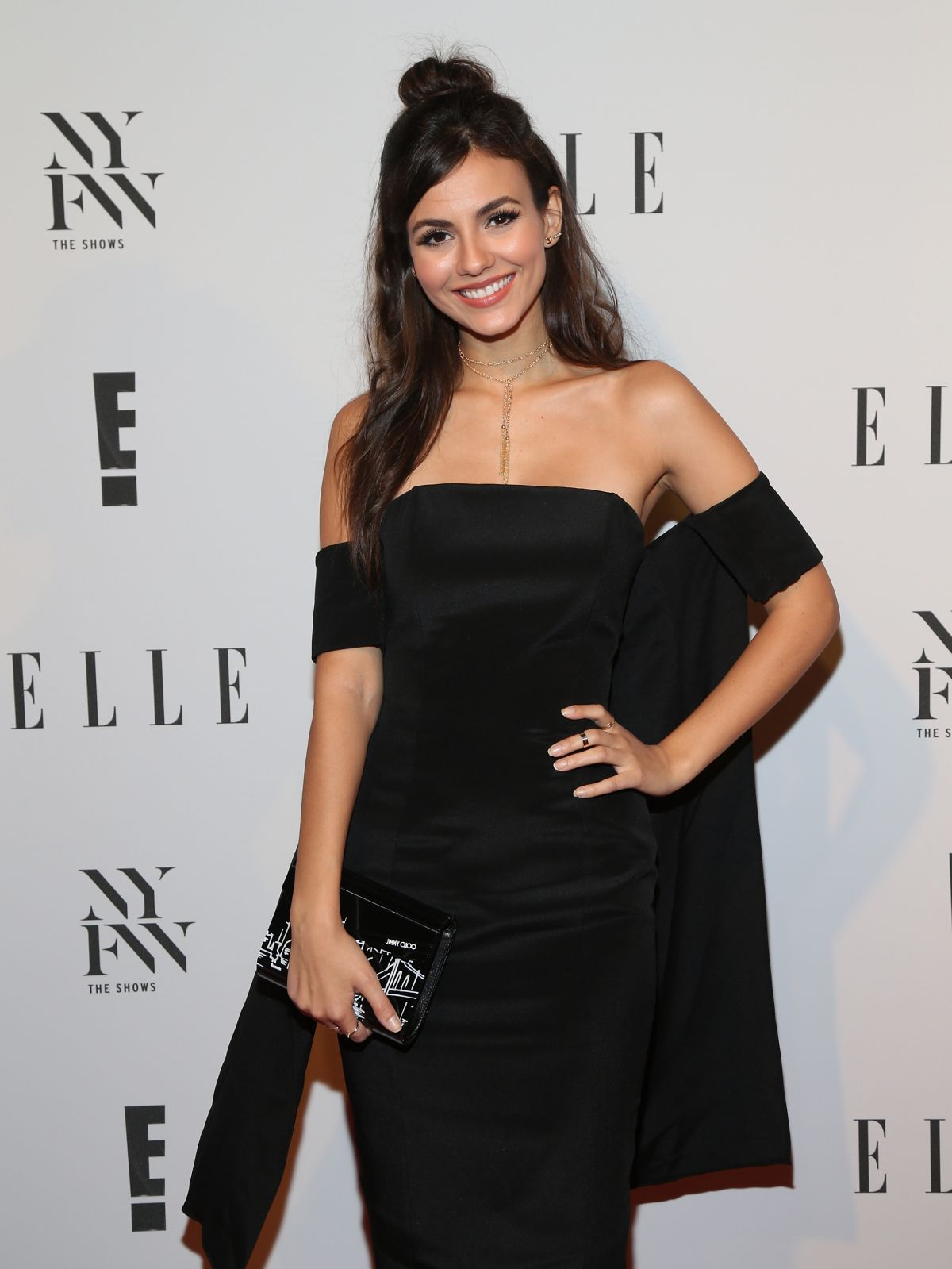 VICTORIA JUSTICE at E! New York Fashion Week Kick-off in New York 09/07/2016