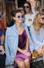VICTORIA JUSTICE at Rebecca Minkoff Fashion Show at New York Fashion Week 09/10/2016