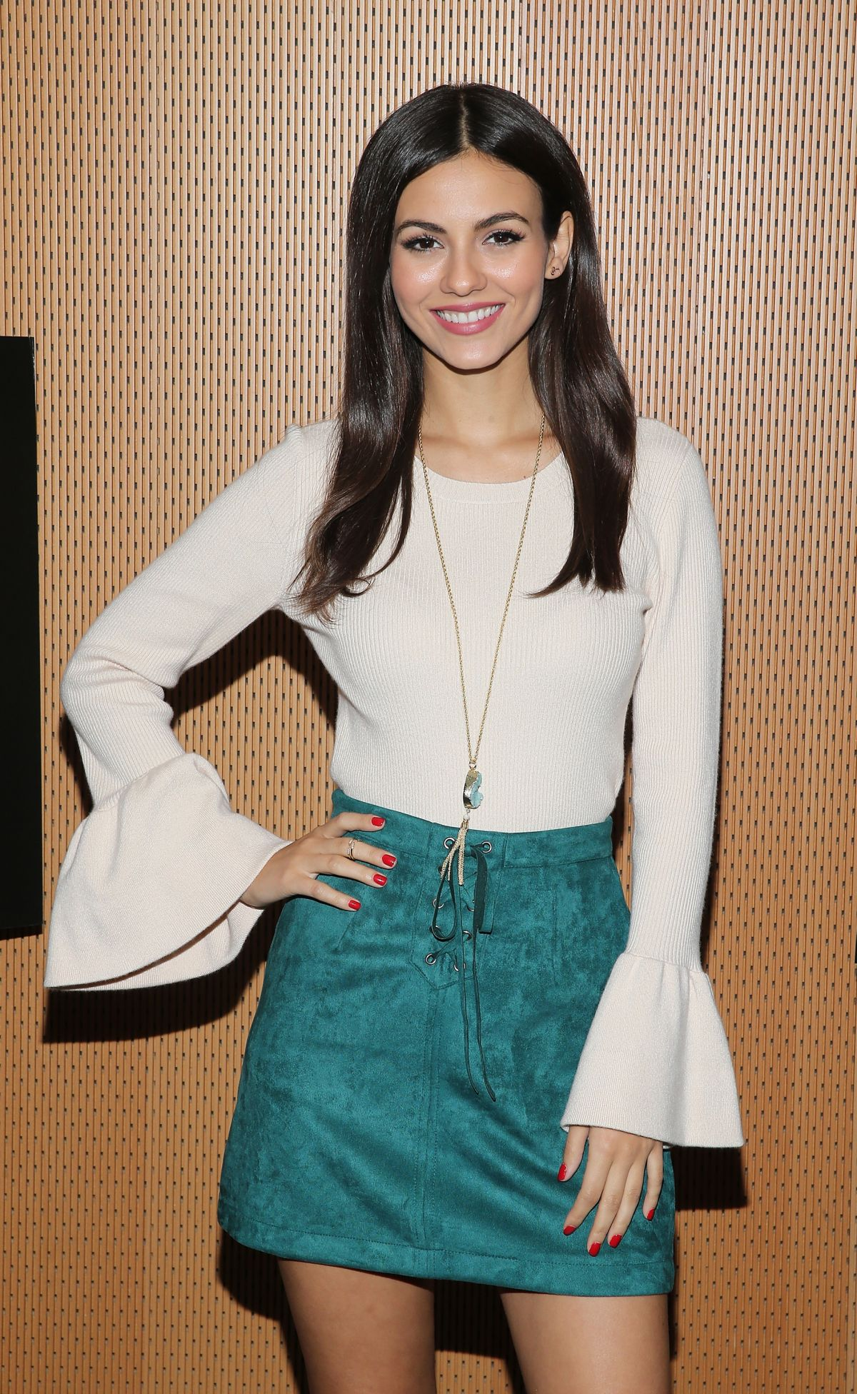 VICTORIA JUSTICE at The Rocky Horror Picture Show: Let