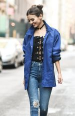 VICTORIA JUSTICE on the Set of a Photoshoot in New York 09/12/2016