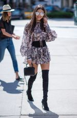 VICTORIA JUSTICE Out and About in New York 09/07/2016