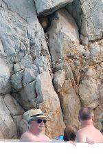 VICTORIA SILVSTEDT in Bikini at Pool of Eden Roc Hotel 09/04/2016