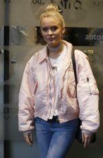 ZARA LARSON at BBC Radio 1 Studios in London 09/20/2016