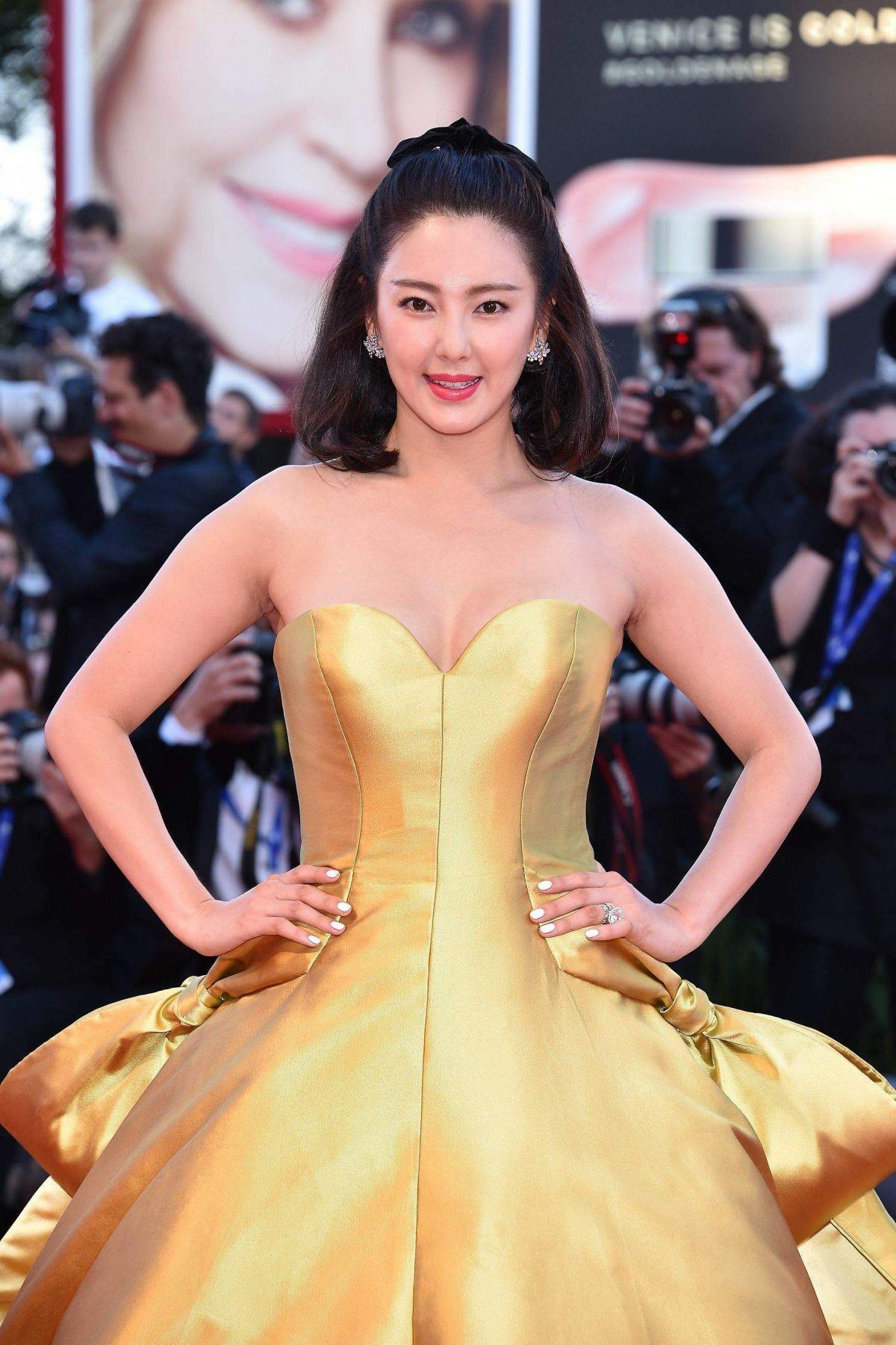 ZHANG YUQI at 'La La Land' Premiere at 2016 Venice Film Festival 08/31/2016