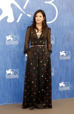 ZHAO WEI at 73rd Venice Film Festival Jury Photocall in Venice 08/31/2016