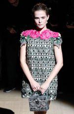 ZOEY DEUTCH at Dolce & Gabbana Fashion Show at Milan Fashion Week 09/25/2016