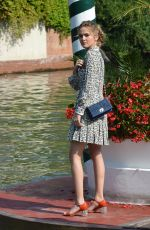 ZOEY DEUTCH at Hotel Excelsior in Venice 09/02/2016