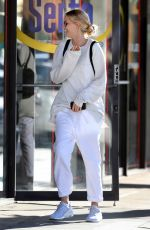 ABBY CHAMPION Leaves Cryozone Cryo-therapy in Santa Monica 10/06/2016