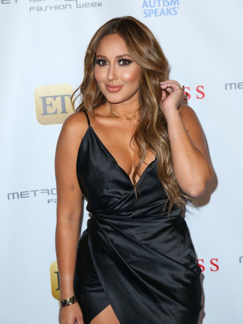 ADRIENNE BAILON at Autism Speaks La Vie En Blue Fashion Gala in Burbank 09/29/2016
