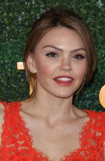 AIMEE TEEGARDEN at Veuve Clicquot Polo Classic in Los Angeles 10/15/2016