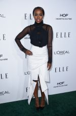 AJA NAOMI KING at 23rd Annual Elle Women in Hollywood Awards in Los Angeles 10/24/2016