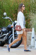 ALESSANDRA AMBROSIO Leaves Nobu in Malibu 10/09/2016