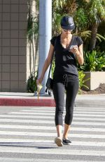 ALESSANDRA AMBROSIO Out in Los Angeles 10/21/2016