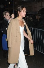 ALICIA VIKANDER Arrives at 2016 BFI London Film Festival Awards in London 10/15/2016
