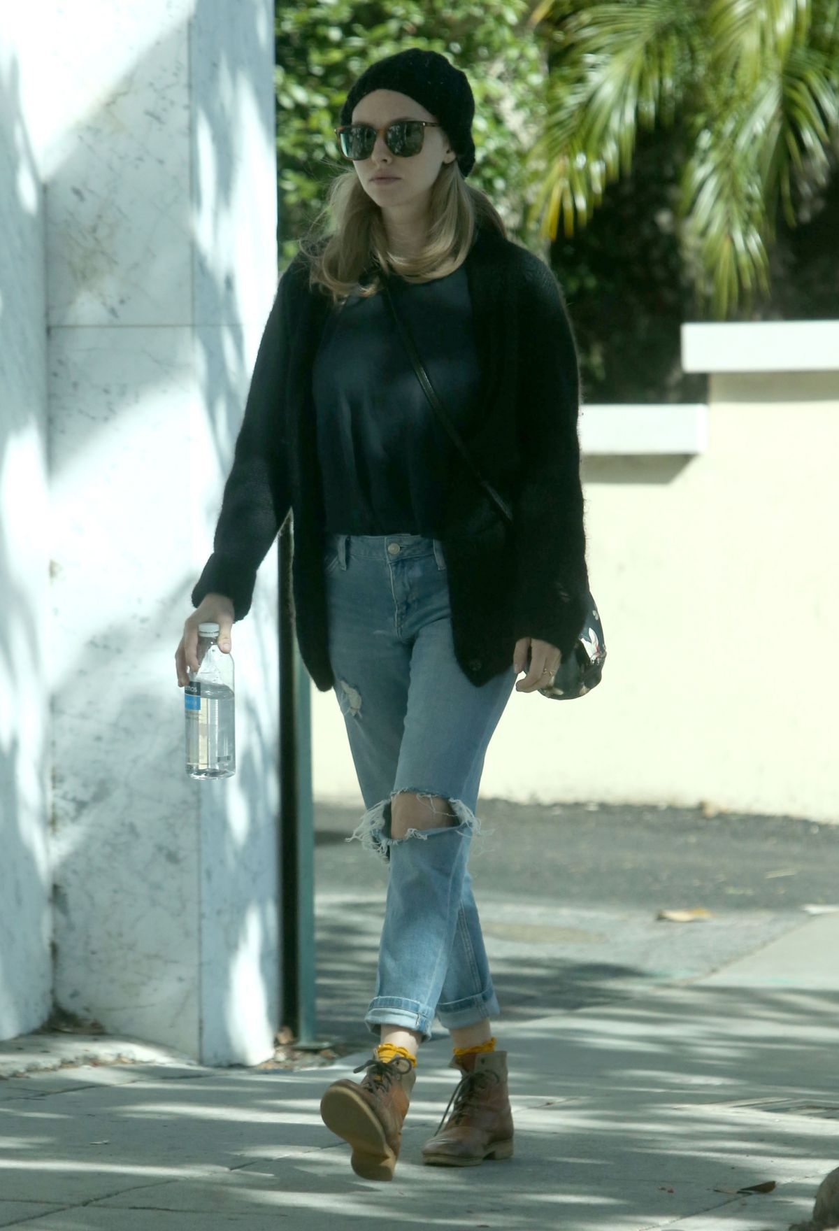 AMANDA SEYFRIED Leaves Knitting House in Beverly Hills 10/18/2016