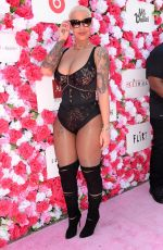 AMBER ROSE at VIP Check-in for Slutwalk in Los Angeles 10/01/2016