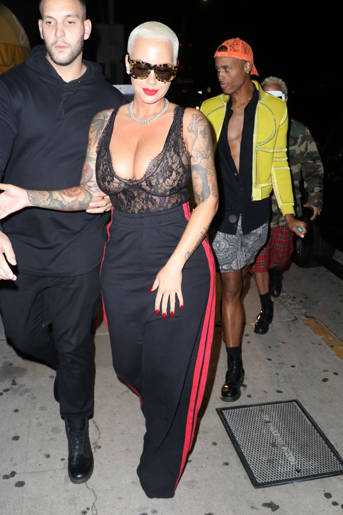 amber rose night out in santa monica 10292016