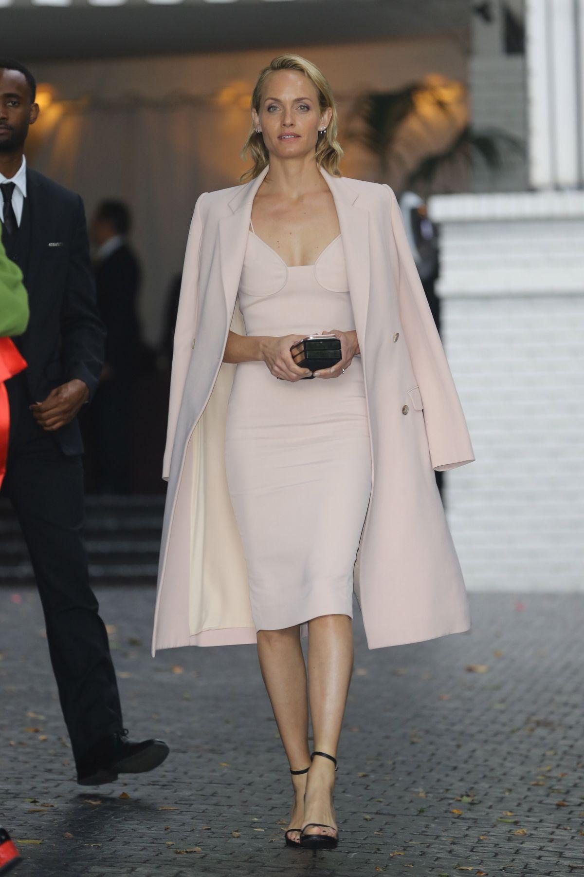 Amber valletta at cfda vogue fashion fund fashion show in los angeles