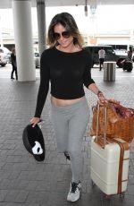 ANASTASIA ASHLEY at Los Angeles International Airport 10/15/2016