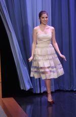 ANNA KENDRICK at Tonight Show Starring Jimmy Fallon in New York 10/28/2016