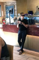 ASHLEY BENSON Out for Coffee in Los Angeles 10/21/2016