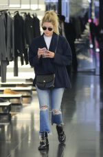 ASHLEY BENSON Out Shopping in Beverly Hills 10/04/2016