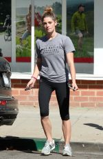 ASHLEY GREENE Out and About in Los Angeles 10/10/2016